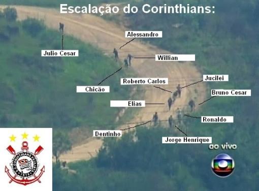escalação do corinthians